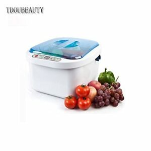Dental 12 8l Home Use Ultrasonic Ozone Vegetable Fruit Sterilizer Cleaner Washer
