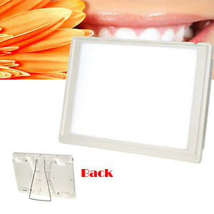 Full View A4 One Side Dental X ray Film Viewer Illuminator Led Light Box Panel