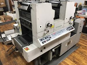 Used Hamada H234c 2 Color Press For Sale