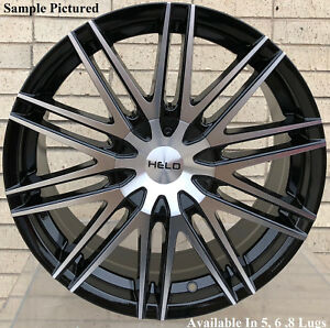 4 New 17 Wheels Rims For Pontiac Vibe Mercury Grand Marquis Mariner Milan 325