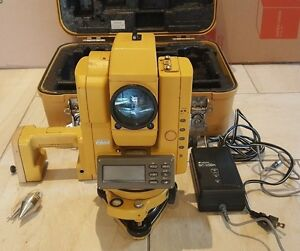 Topcon Gts303d Electronic Total Station Gts300 Series
