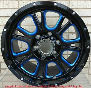 4 New 17 Wheels Rims For Chevrolet Silverado 1500 K 1500 C 2500 K 2500 6825