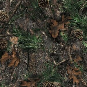 Mixed Pine True Timber Camo Hydrographic Water Transfer Film Hydro Dipping Dip