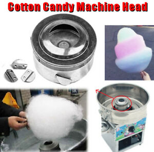 10 5x5 5cm Cotton Candy Machine Head Sugar Candy Floss For Cotton Maker Silver