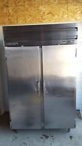 Beverage Air Upright 2 Door Refrigerator Stainless Steel Tested No Tag