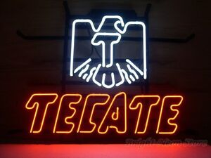 Cerveza Tecate Neon Sign For Store Beer Bar Pub Real Neon Light Sign Custom Z598