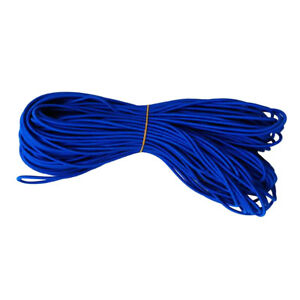 5mm Blue Multifunction Elastic Rubber Bungee Tie Down Tarpaulin Shock Cord Diy