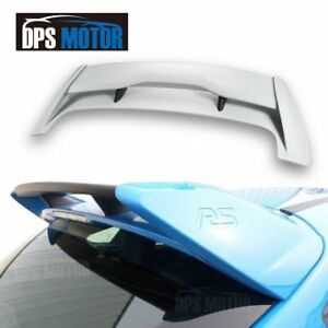 Rs Style Abs Rear Roof Trunk Spoiler Wing For 2012 2018 Ford Focus Mk3 Hatchback