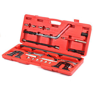 Pro Cylinder Head Service Set Valve Spring Compressor Removal Installer Tool Kit