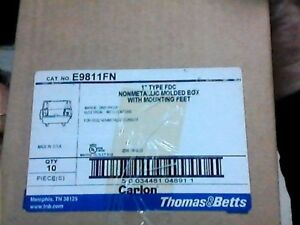 Carlon E9811fn 1 Inch Non metallic One Gang Deep Fd Box 25 Cuin Type Fdc