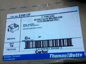 Carlon E9812f 1 Inch Non metallic Two Gang Fs Box 32 Cuin Type 2fsc