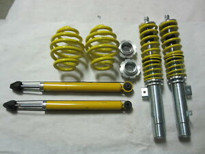 Fk Streetline Coilovers For Bmw E46 3 series 2000 To 2005 Sedan Coupe Convert