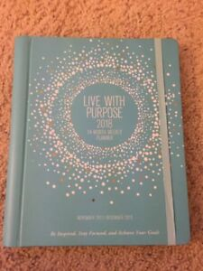 Live With Purpose 2018 Weekly Planner 14 month Calendar