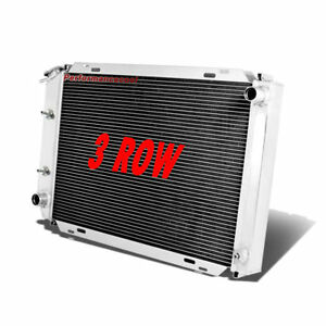 3 Row Aluminum Radiator For 1979 1993 Ford Mustang Auto manual Race Racing New