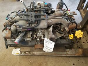2004 Legacy 2 5 Engine Motor Assembly 172 461 Miles Sohc Ej25 No Core Charge