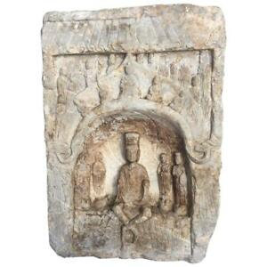 Chinese Large 23 Old Stone Grotto Buddha Private Family Garden