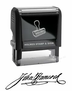 Custom Signature Stamp Self Inking Personalized Signature Stamp