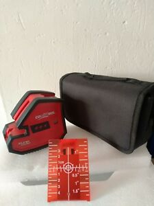 New Conotrol Precision Xliner 5 point And 2 line Laser Level