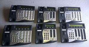 Lot Of 6 Tadiran Telecom Coral Flexset Business Phone 121s 281s 120s Parts