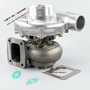 T4 Turbocharger Comp Ar 80 Turbine A r 81 T4 Flange Vband Water Cold 800hp