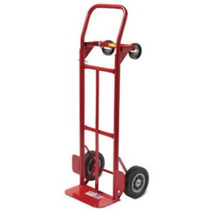 Milwaukee Hand Trucks 35080 Convertible Truck With 8 inch Puncture Proof Tires