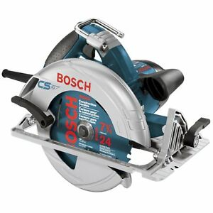 Bosch 7 25 Inch 15 Amp 120v Electric Corded Circular Saw certified Refurbished
