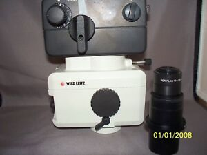 Wild Leitz Wild Heerbrugg Mps 52 Analog Microscope Camera