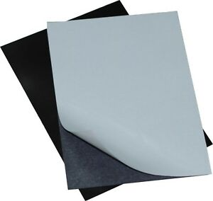 Flexible Adhesive Magnetic Sheets Peel And Stick 4x6 Inches Perfect For New