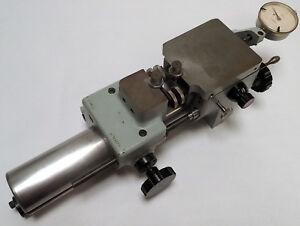 Precision Measurement Stage Micrometer W Compac Geneve 567 A Dial Indicator 4x4