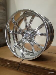 20x10 American Racing Vn431 Custom Bilt Wheel Chevy Ford Dodge Mopar Gm
