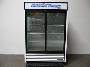 True Gdm 47 ld Sliding Glass Door Display Merchandiser Refrigerator Mfg 2015