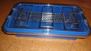 Richard Wolf Riwo System Storage Container Tray Hygiene Sterilization With Rack
