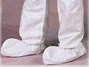 Disposable Protective Shoe Covers White Ankle high 200 Count