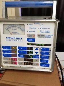 Used Newport Ht50 Portable Ventilator Condition Unknown sold In As Is Condition