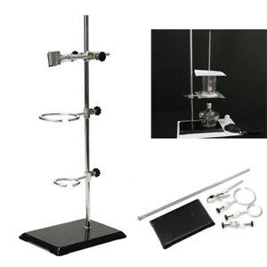 52cm Lab Support Stands Platform Flask Bottle Tube Clamp Bracket