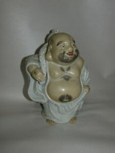 Old Or Antique Japanese Kutani Porcelain Male Figure Signed