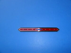 1965 Chevrolet Nova Rear Panel Emblem trim Parts usa new