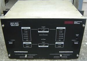 Microwave Data Systems Mds 960d Point To Point Digital Radio 960dah21432a1f0