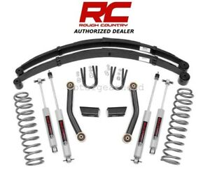 1984 2001 Jeep Xj Cherokee 3 Series Ii Rough Country Lift Kit W N3 630xn2