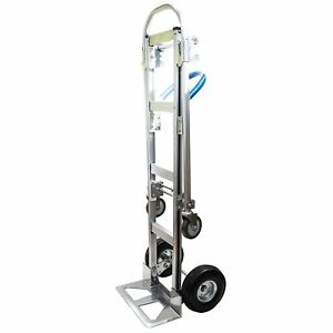 Hta 7b 2 In 1 Senior Convertible Aluminum Hand Truck Assembled Without Wheels