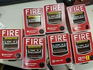 Honeywell Fire Lite Pull Stations