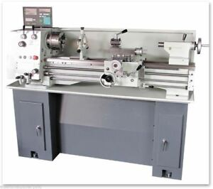 Eisen 1236gh Bench Lathe With Dro Stand Made In Taiwan Single phase 220v