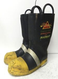 Thorogood Hellfire Steel Toe Firefighter Safety Fire Boots Mens Size 9 Wide 3