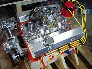Chevy 5 7l 350 355 385 Hp Custom Crate Engine Turn Key Dyno Test 2 Year Warranty