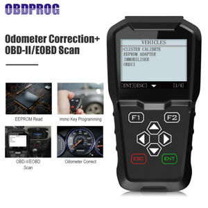 Obd2 Car Programmer Immobilizer Auto Odometer Mileage Adjustment Diagnostic Tool