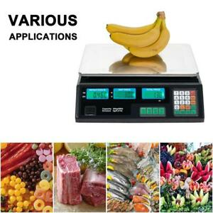 88 Lb 40 Kg Digital Postal Scale Computing Produce Electronic Counting Weigh