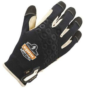 Outdoor Work Gloves Xl Protective Safety Gear Heavy duty Leather reinforced