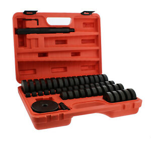 Abn Bush Bearing Seal Driver 18 65mm 74mm 50 piece Set With Carrying Case