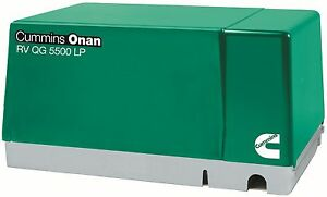 New Cummins Onan 5 5 Hgjab 7103 Rv Generator Set Quiet Gasoline Series Rv Qg 5kw