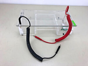 Bio rad Dna Sub Cell Gel Electrophoresis Tank W Lid And Leads 16s 1000 Vdc